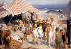 coney-island. Bellows. Some people don't like this painting. I do. Look at that far horizon.