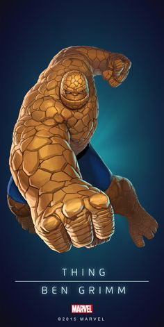 #Thing #Fan #Art. (THING - BEN GRIMM IN: MARVEL'S PUZZLE QUEST!) BY: AMADEUS CHO! (THE * 5 * STÅR * ÅWARD * OF: * AW YEAH, IT'S MAJOR ÅWESOMENESS!!!™)[THANK Ü 4 PINNING<·><]<©>ÅÅÅ+(OB4E)(IT'S THE MOST ADDICTING GAME ON THE PLANET, YOU HAVE BEEN WARNED!!!)