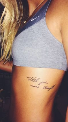 19 Best Tattoo Quote Placement Images Female Tattoos Nice Tattoos Tatoos