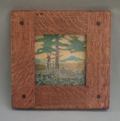 Two Oak Tile by Hog Hill Pottery. American Made. See the designer's work at the coming 2016 American Made Show, Greenville SC May 17-19, 2016. #CAPCA