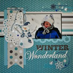 @Style Space & Stuff Blog Walker..layout using Lace doily  #4017 and scalloped circle borders #9359