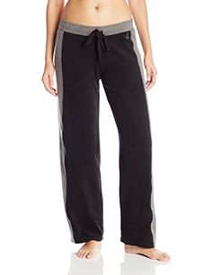 Cuddl Duds Womens Fleece with Stretch Loose Leg Pant Black Small >>> Read more reviews of the product by visiting the link on the image.