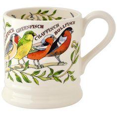 Seconds Garden Birds 1/2 Pint Mug 2016