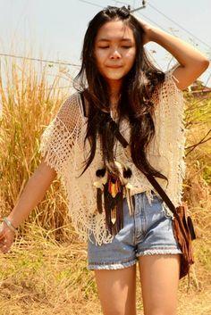 modern Native American girl
