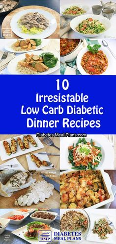10 Diabetic Dinner Recipes Techniques Regarding How To Get over All forms of diabetes Quickly Diabetic Recipes For Dinner, Diabetic Meal Plan, Low Carb Recipes, Diet Recipes, Diabetic Foods, Chicken Recipes For Diabetics, Recipes For Gestational Diabetes, Diabetic Lunch Ideas, Easy Diabetic Meals