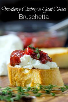 Bruschetta with Stra