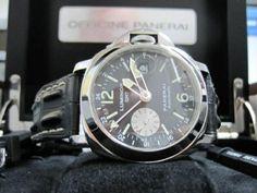 Panerai Luminor Marina GMT Pam0088 (Midtown) Panerai Luminor Marina, Watch Sale, Michael Kors Watch, Jewelry Watches, Ads, York, City, Accessories, City Drawing