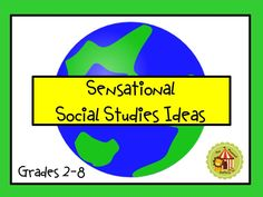 This will be a great general social studies resource that contains activities, technology connections, and lessons spanning the social studies content areas. 3rd Grade Social Studies, Social Studies Classroom, Social Studies Activities, Teaching Social Studies, Teaching History, Teaching Resources, Classroom Organization, Classroom Management, Classroom Ideas