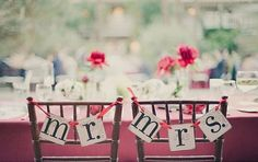 Lovely DIY Wedding Bunting and Garland Ideas