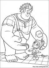 Wreck-It Ralph coloring pages on Coloring-Book.info