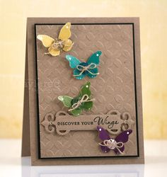 Discover Your Wings... by Lauraly - Cards and Paper Crafts at Splitcoaststampers