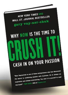 The social media revolution has changed the way we live our lives and conduct our business. Learn how Crush It will give you the tools to take advantage and WIN.
