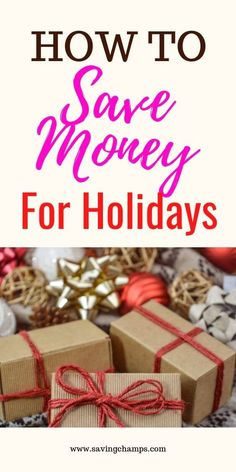 How to Save Money for Holidays. Holidays do not only mean gifts, fun and and more rest, they also imply more spending. Here are some tips on how to save money for your holidays. tips Save Money for the Holidays: Tips on Preparing your Personal Finance Ways To Save Money, Money Tips, Money Saving Tips, How To Make Money, Saving Ideas, Money Plan, Planning Budget, Budget Planner, Discount Gift Cards