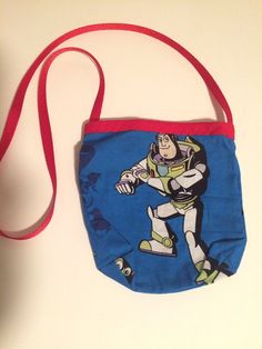 Toy Bag  phone carry case boy or girl tote by AuntSandysSewing