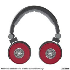 American Samoan coat of arms Headphones