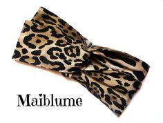 Fascia turbante leopardata animalier di Maiblume su DaWanda.com Twist Headband, Shopping, Etsy, Fashion, Headband Bun, Moda, Fashion Styles, Fashion Illustrations