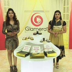 Glamera Gold Facial Kit From Teleshop - Home Shopping Channel In India. Order Now @ 09312100300  Details @ http://teleshop.in/glamera-gold-facial-kit.html