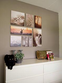 Zelfs de kat is happy met Ogu Live Life aan de muur! #wanddecoratie #interieur
