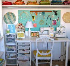 Atelier de couture - idée d'organisation