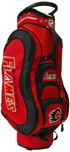 NHL Calgary Flames Medalist Cart Golf Bag by Team Golf, http://www.amazon.ca/dp/B0070OC92Q/ref=cm_sw_r_pi_dp_BZYWsb0C227CF