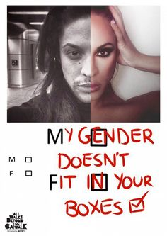Graphic Design Finalist: Amy Hewitt, Liverpool John Moores University, Diversity NOW! 2015 by All Walks Identity Art, Fashion Identity, Equality And Diversity, Gender Binary, Pride Quotes, Quotes Quotes, Student Fashion, Protest Art, Student Work