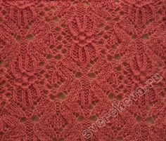 Something about this stitch pattern is screaming knit me right now!