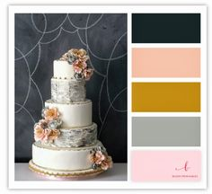 oh so glam // a blog by blush printables: 10 color palettes you'll die for
