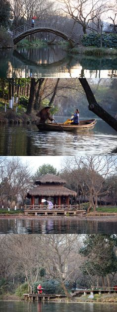 How do Hangzhouers enjoy their first day of 2015? We just enjoyed the day in ordinary Chinese style, beside our beautiful West Lake. #traditional #China