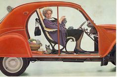 La 2CV cool knitting picture I want a car like this as long as it drives itself