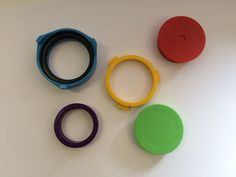 Badge-a-Minit Spare set of Assembly Rings - 57mm