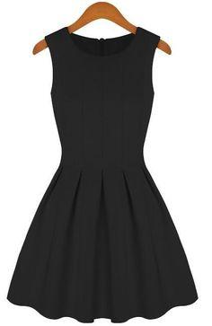 New Summer Dresses Plus Size Pleated Sakter Praia Casual Women Clothing Vintage Sleeveless Cotton Dress Vestido SS14D006