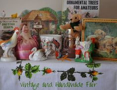 Vintage & Handmade Autumn Fair Saturday 3rd October 2015. Chipping Sodbury Town Hall, South Gloucestershire, BS37 6AD.
