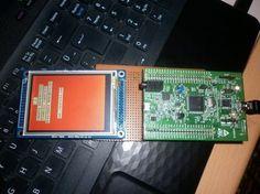 STM32F4 Discovery Dokunmatik Ekran Yazı Uygulaması
