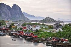 Фото - путешествия по миру: Лофотенские острова. Норвегия