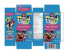 Printable Cereal Boxes   Cereal Box Template