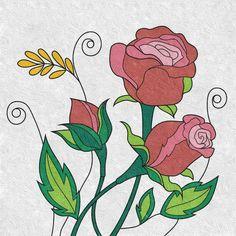 Flower in description