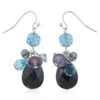 $68 Ultramarine Crystal Earrings at https://shopsto.re/items/4953 #accessories #jewelry #earrings