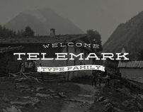 Telemark Type Family by Juri Zaech, via Behance