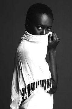 Binta Dibba photographed by Gregory Cecil