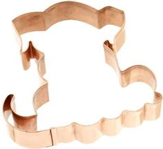 Old River Road Puppy Shape Cookie Cutter, Copper