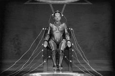"Fritz Lang's 1927 film masterpiece, ""Metropolis,"" emphasized the dehumanizing potential of technology."