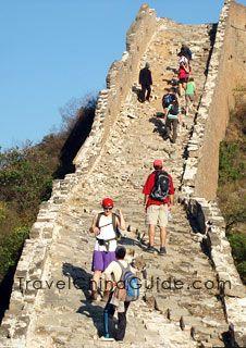 Great Wall Hiking from Jinshanling to Simatai