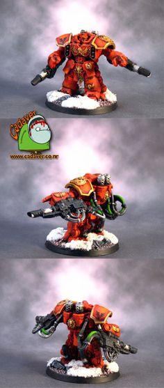 Home of Cadaver: Blood Angels Centurions