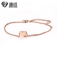 New Adjustable Lucky Bracelet & Anklets Rose Gold Color Stainless Steel Heart Love Anklets For Women Jewelry Accessories     Tag a friend who would love this!     FREE Shipping Worldwide     Buy one here---> http://jewelry-steals.com/products/new-adjustable-lucky-bracelet-anklets-rose-gold-color-stainless-steel-heart-love-anklets-for-women-jewelry-accessories/    #necklaces