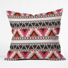 Andrea Victoria Capri Stripe Throw Pillow | DENY Designs Home Accessories