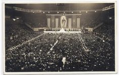 Nazi rally in Madison Square Garden - 1939