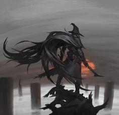 ArtStation - Bloodborne fan art, Shuohan Zhou