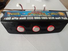 Pachislo Slot Machine Parts - All Stop Buttons, Boards and Cables