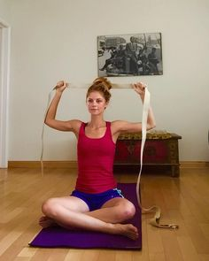 Many of us who work in front of computers develop rounded shoulders. Correct the postural imbalance with these yoga moves. By Annika Ihnat
