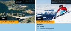 MyFunLife Cheap Travel Trip! Cheap Travel Deals, Travel Trip, More Fun, Sweden, Skiing, Things I Want, Condo, Day, Places